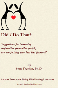 Did I do That -- Samuel Trychin, PH.D.